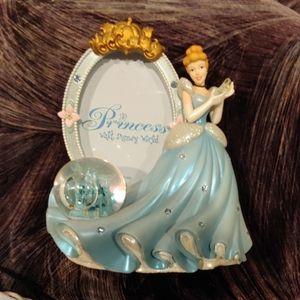 Cinderella Castle snow globe frame